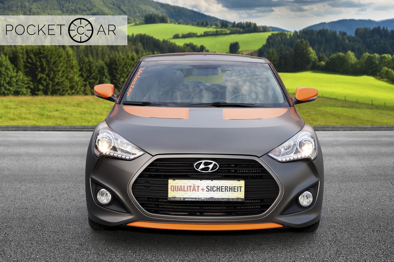 Hyundai Veloster nach Bearbeitung