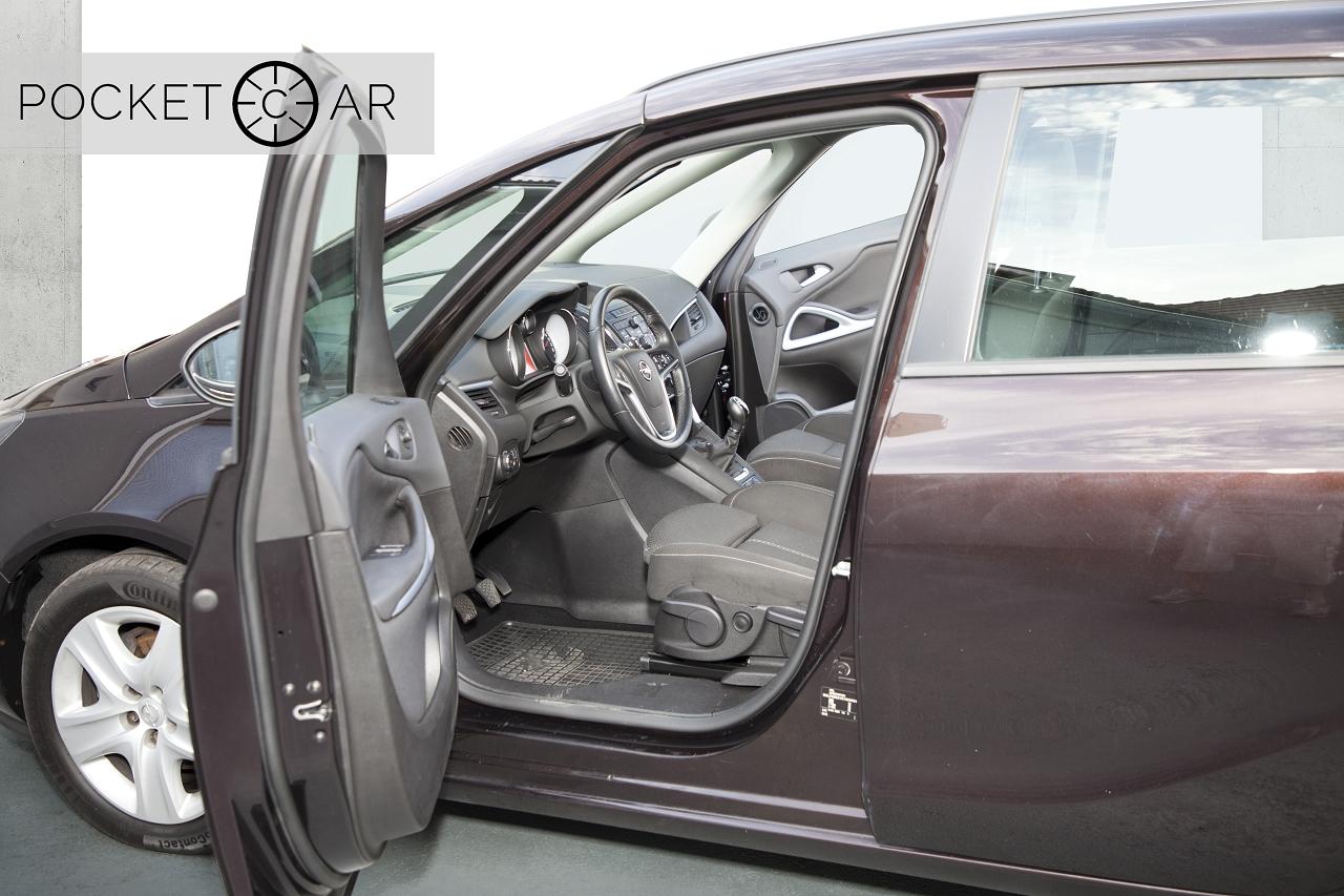 Opel Zafira nach Bearbeitung